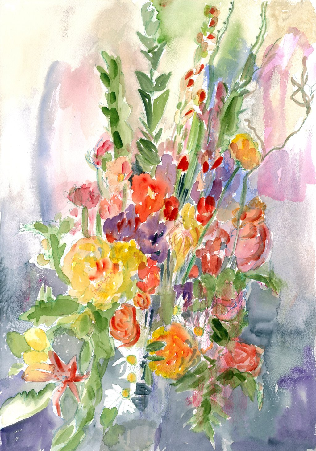 Florists Bouquet1 2013 17 x 23
