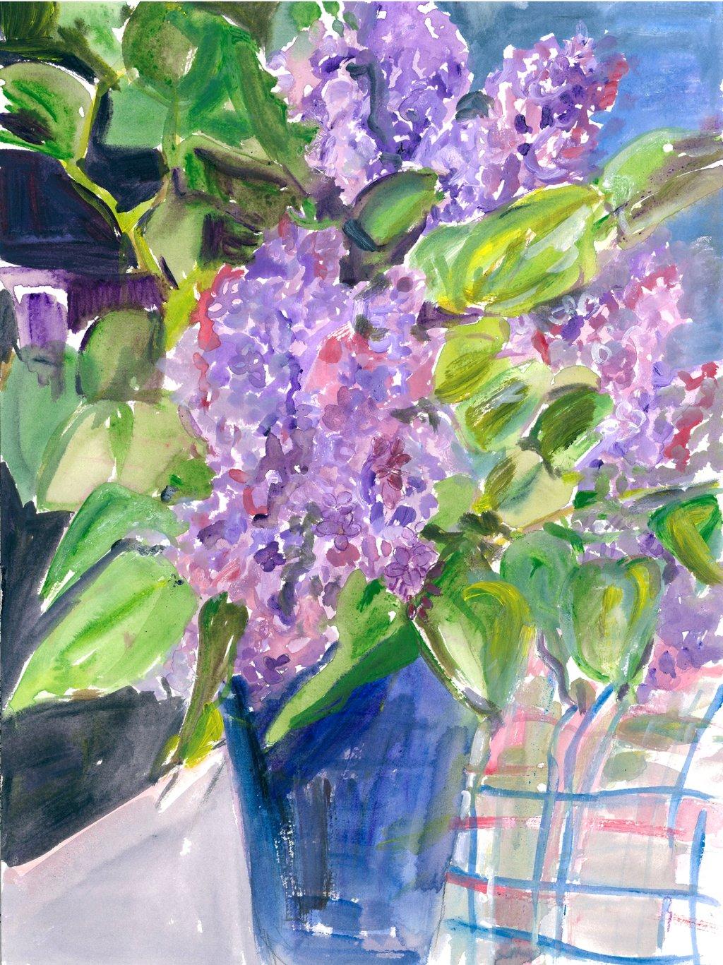 Lilacs 2 2013 14 x 18