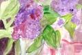 Lilacs 3 Acrylic 2013 12 x 16
